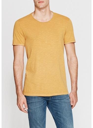 Mavi Mavi Sarı Basic T-Shirt Sarı